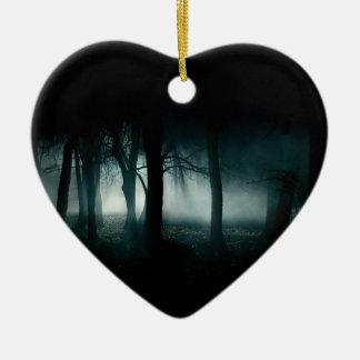 暗い森林 セラミックオーナメント