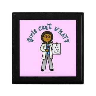 暗い検眼医の女の子 ギフトボックス