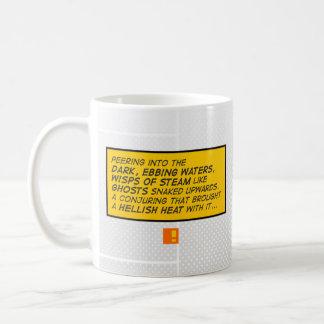 """""""暗い水""""喜劇的なマグ コーヒーマグカップ"""