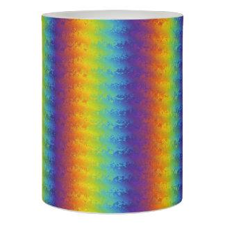 暗い波状の虹 LEDキャンドル