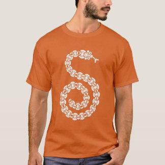 暗い無線大蛇 Tシャツ