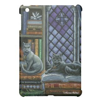 暗い知識の図書館猫のiPadの箱 iPad Miniケース
