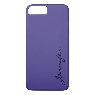 暗い石板青い色の背景 iPhone 8 PLUS/7 PLUSケース