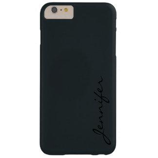 暗い砲金色の背景 BARELY THERE iPhone 6 PLUS ケース