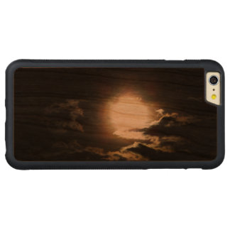 暗い空 CarvedチェリーiPhone 6 PLUSバンパーケース