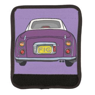 暗い紫色の日産・フィガロ車のバッグのハンドルラップ ラゲッジ ハンドルラップ