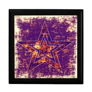 暗い紫色の星 ギフトボックス
