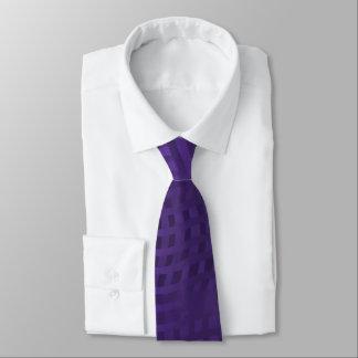 暗い紫色の波状の織り方パターン タイ