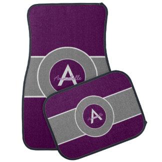 暗い紫色の灰色 カーマット