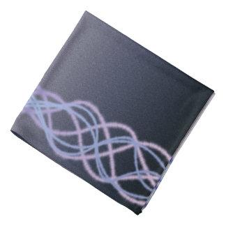 暗い紫色ライト バンダナ