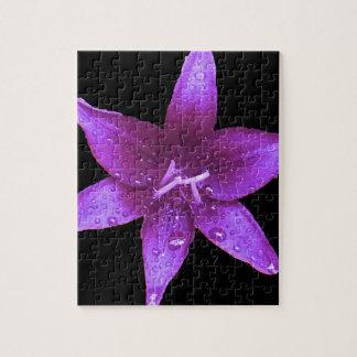 暗い紫色 ジグソーパズル