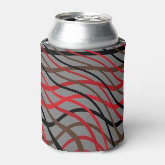 暗い織り方の波 缶クーラー