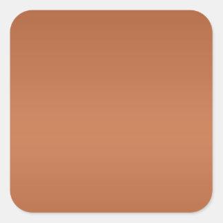 暗い色のLableのラベル-軽い陰のタイプのプリント スクエアシール