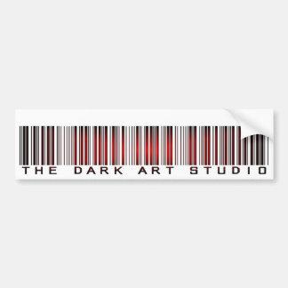 暗い芸術の店のバーコードのバンパーステッカー4 バンパーステッカー