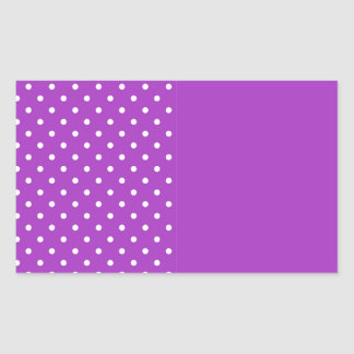 暗い蘭のテンプレート 長方形シール