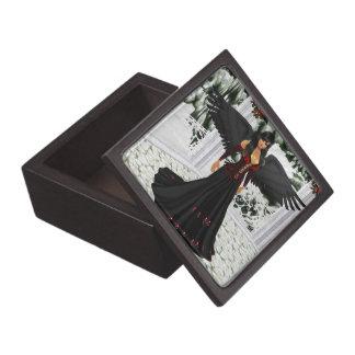 暗い記念品箱の天使 ギフトボックス