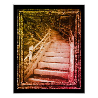 暗い道 ポスター
