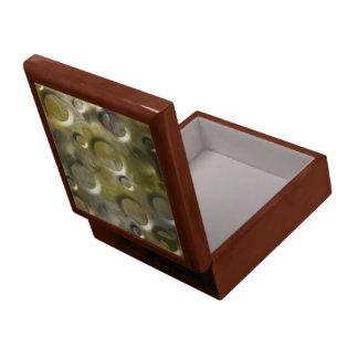 暗い金ゴールド ギフトボックス