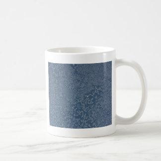 暗い鋼色の氷った水晶 コーヒーマグカップ
