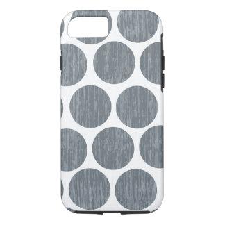 暗い鋼鉄灰色の動揺してな水玉模様のiPhone 7 iPhone 8/7ケース