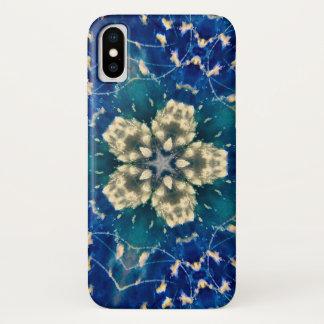 暗い雲の星の曼荼羅の箱 iPhone X ケース