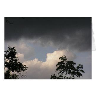 暗い雲は長くとどまりません カード