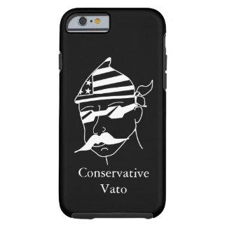 暗い電話箱のVatoの保守的な白 ケース