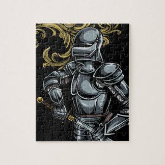 暗い騎士装甲 ジグソーパズル