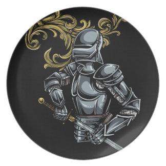 暗い騎士装甲 プレート