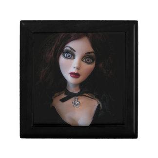暗い魅力のEvangelineの恐ろしい人形の宝石箱 ギフトボックス