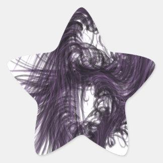 暗い 星シール