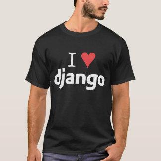 暗い- Iの♥ Django Tシャツ