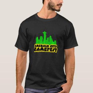 暗いECGのワイシャツ Tシャツ