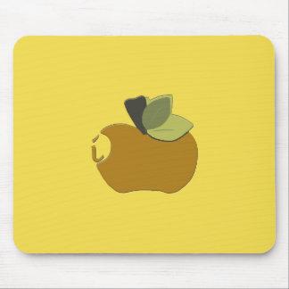 暗いGoldenrod Apple マウスパッド