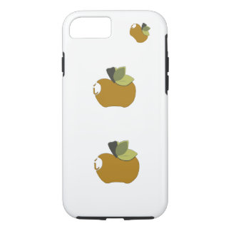 暗いGoldenrod Apple iPhone 8/7ケース