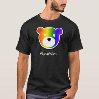 暗いGROWLrの#LoveWins Tシャツ