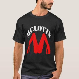 暗いTシャツのためのMclovin Tシャツ