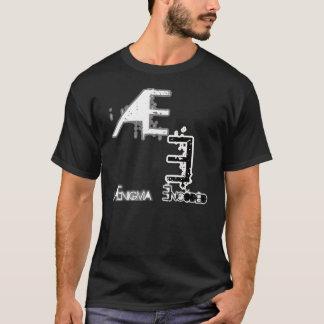 暗いTシャツのロゴ Tシャツ
