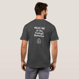 """暗いT - """"肉CorleyQのバーベキューの私"""" Tシャツ"""
