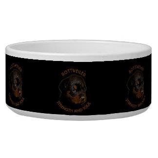 暗くかわいいロットワイラーの小犬