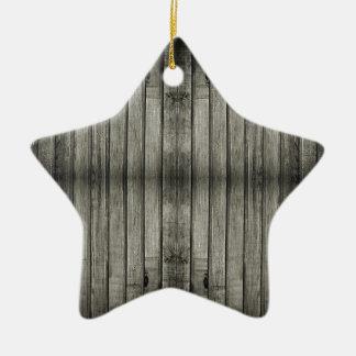 暗く気味悪い木製の質 セラミックオーナメント