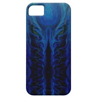 暗く神秘的なタコの創造物 iPhone SE/5/5s ケース