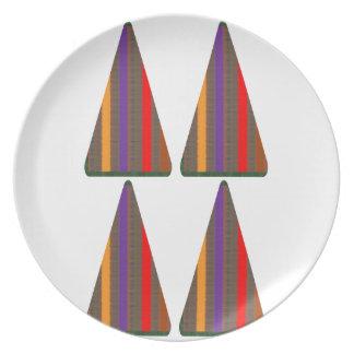 暗号: ピラミッドの三角形の芸術: 低価格のギフト プレート