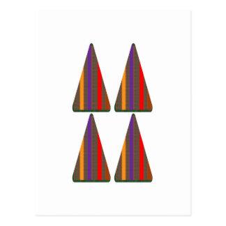 暗号: ピラミッドの三角形の芸術: 低価格のギフト ポストカード