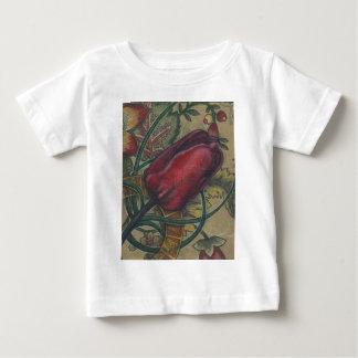 暗唱のチューリップ ベビーTシャツ