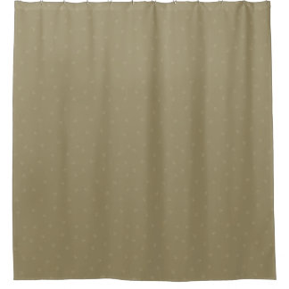 暗灰色のPawprintのシャワー・カーテン シャワーカーテン