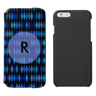 暗藍色の道化師パターン INCIPIO WATSON™ iPhone 6 財布ケース