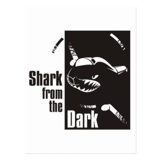 暗闇からの鮫 ポストカード