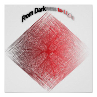 暗闇からライトへの ポスター