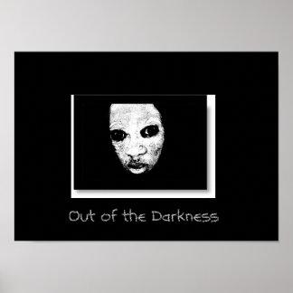 暗闇から ポスター